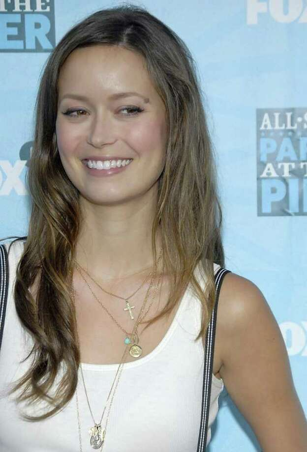 Actress Summer Glau poses on the press line at the FOX Networks Summer TCA party in Santa Monica, Calif. on Monday, July 14, 2008. Photo: DAN STEINBERG, AP / R-STEINBERG