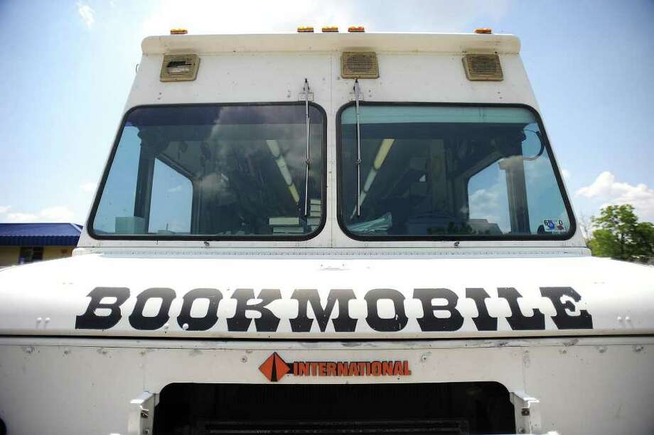 Jefferson County Commissioners were to decide whether they would auction off or donate the bookmobile which has been taken out of service recently. Enterprise file photo Photo: File / Beaumont