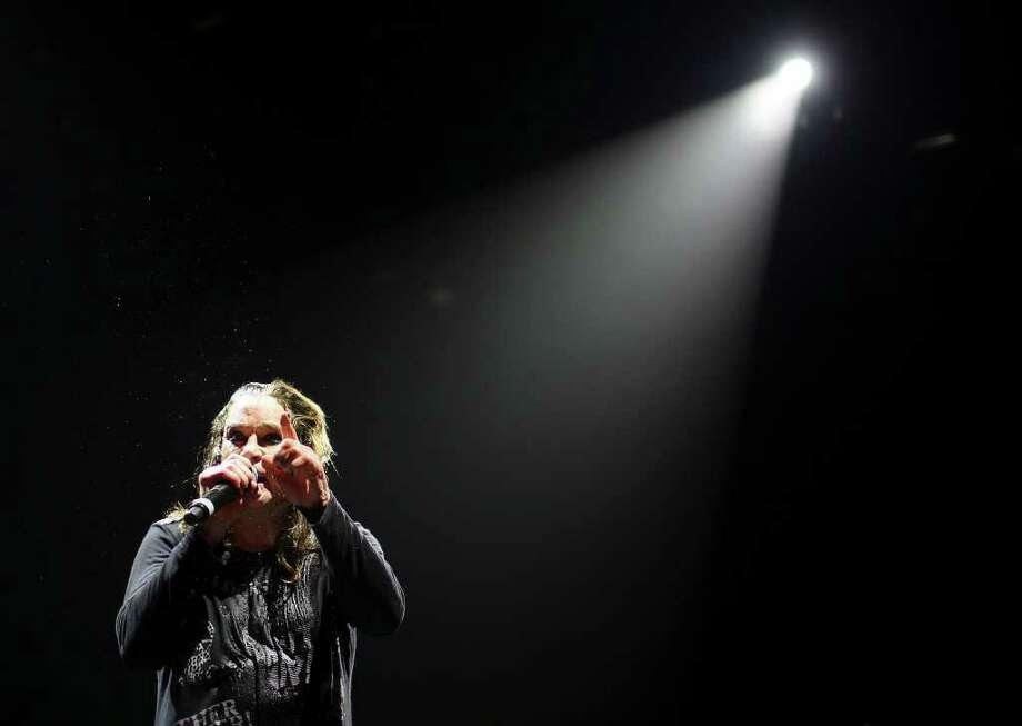 Ozzy Osbourne performs Monday, Jan. 24, 2011, at the AT&T Center. Photo: EDWARD A. ORNELAS, SAN ANTONIO EXPRESS-NEWS / eaornelas@express-news.net
