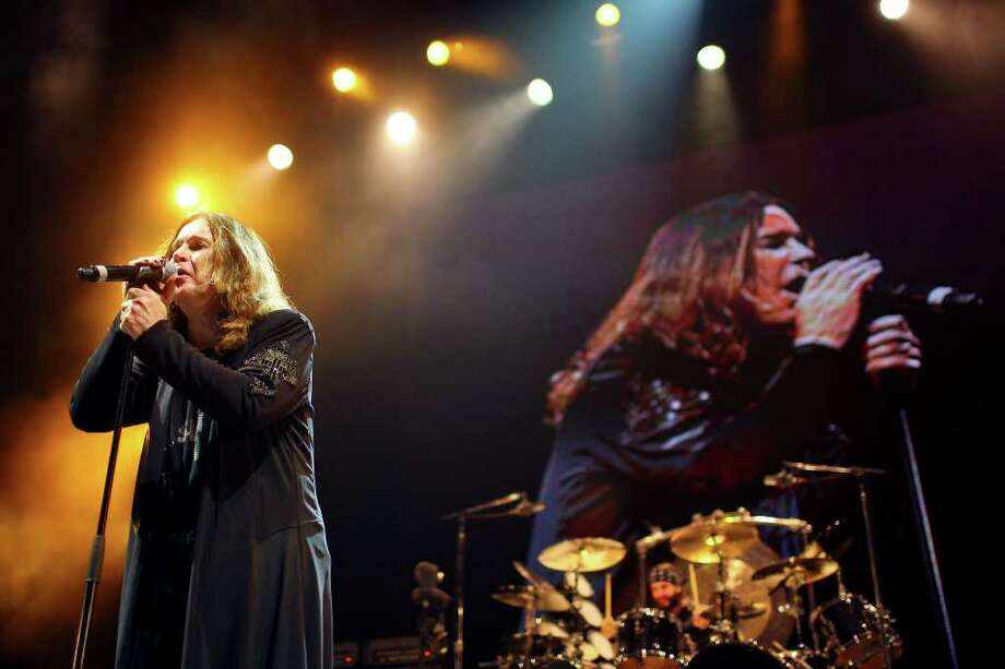 Ozzy Osbourne performs Monday, Jan. 24, 2011, at the AT&T Center. Photo: EDWARD A. ORNELAS, SAN ANTONIO EXPRESS-NEWS / eaornelas@express-news.net