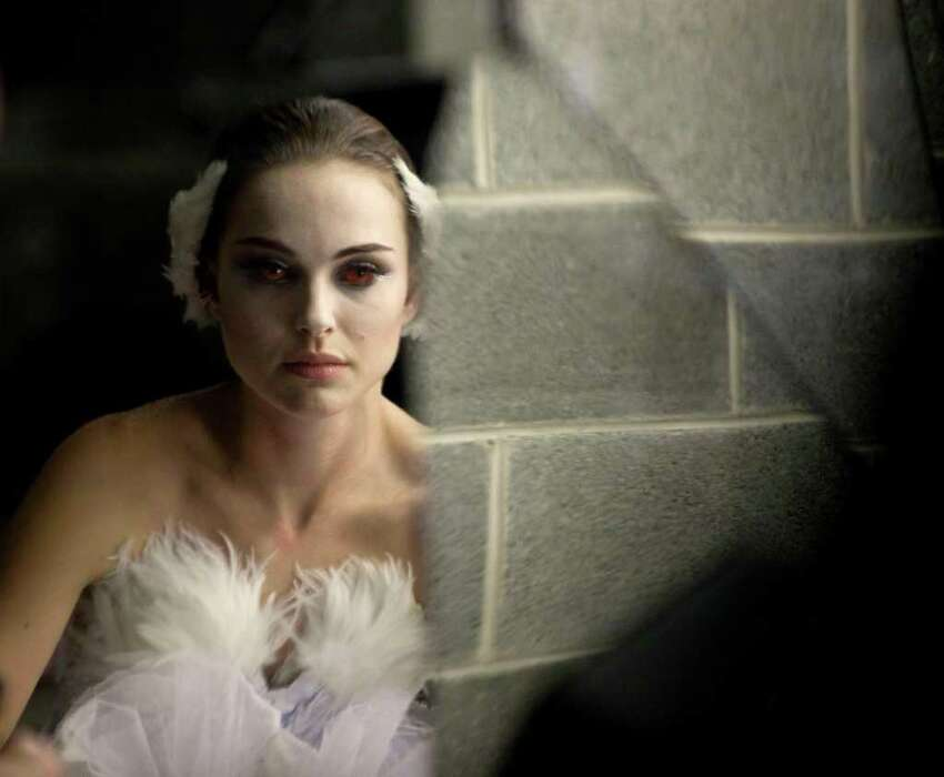 In this film publicity image released by Fox Searchlight, Natalie Portman is shown in a scene from