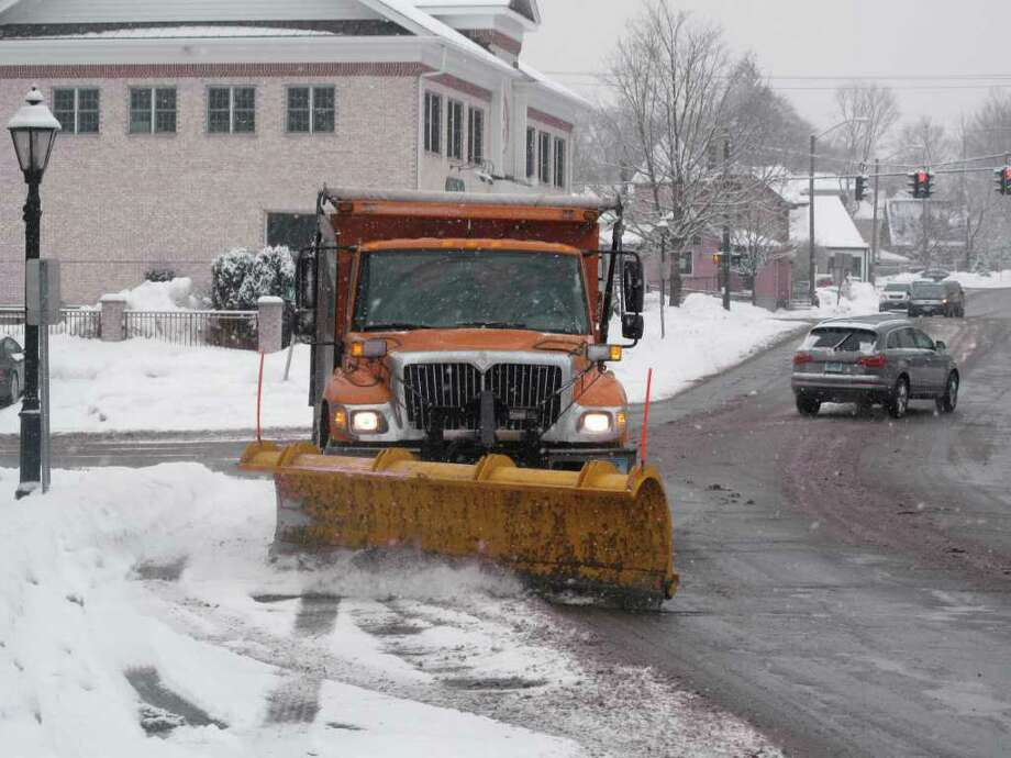 More plow work for New Canaan. Photo: Contributed Photo;Paresh Jha Staff Photo, Contributed Photo / New Canaan News