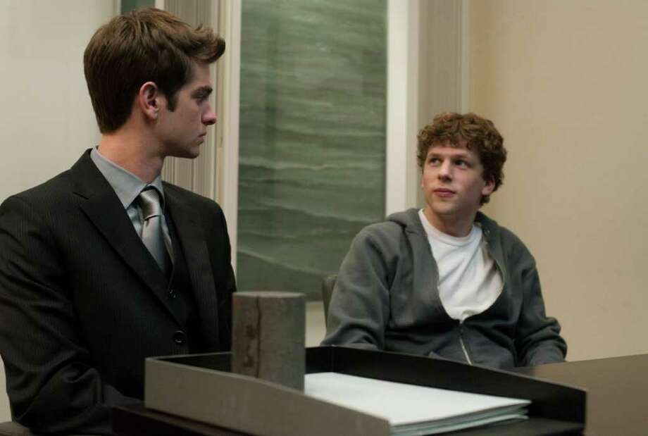 "Andrew Garfield played  Eduardo Saverin, another roommate and Facebook co-founder, in ""The Social Network."" Photo: Merrick Morton / DirectToArchive"