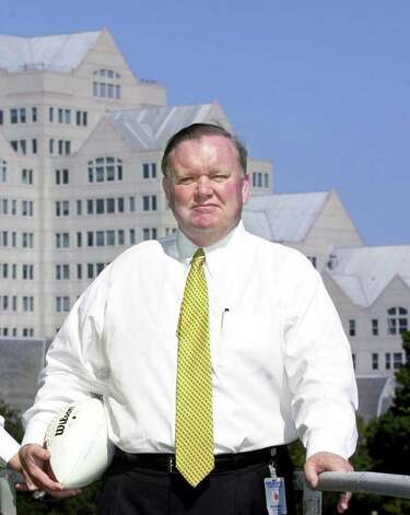 Greenwich resident Robert Burton in 2001. Burton is demanding the return of $3 million in donations from the University of Connecticut and the removal of his name from a campus building over disagreements with the athletic director. Photo: Kerry Sherck / Stamford Advocate