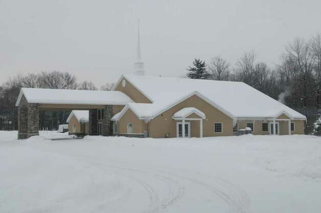 A view of the Parkside Church in Clifton Park, NY on Tuesday, Jan. 25, 2011.   The church has erected an electronic message board near the main road. (Paul Buckowski / Times Union) Photo: Paul Buckowski / 00011859A
