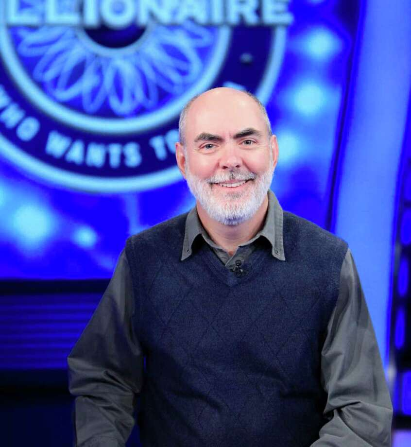 "Richard Angehr, an Ellis Hospital social worker from Schenectady, will be a contestant on ?Who Wants To Be A Millionaire? on Thursday and Friday, January 27-28, 2011. (Photo courtesy of ""Millionaire"")"