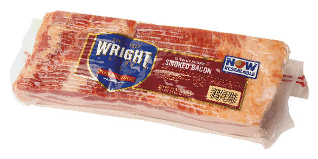 Wright Brand smoked bacon (Will Waldron / Times Union)