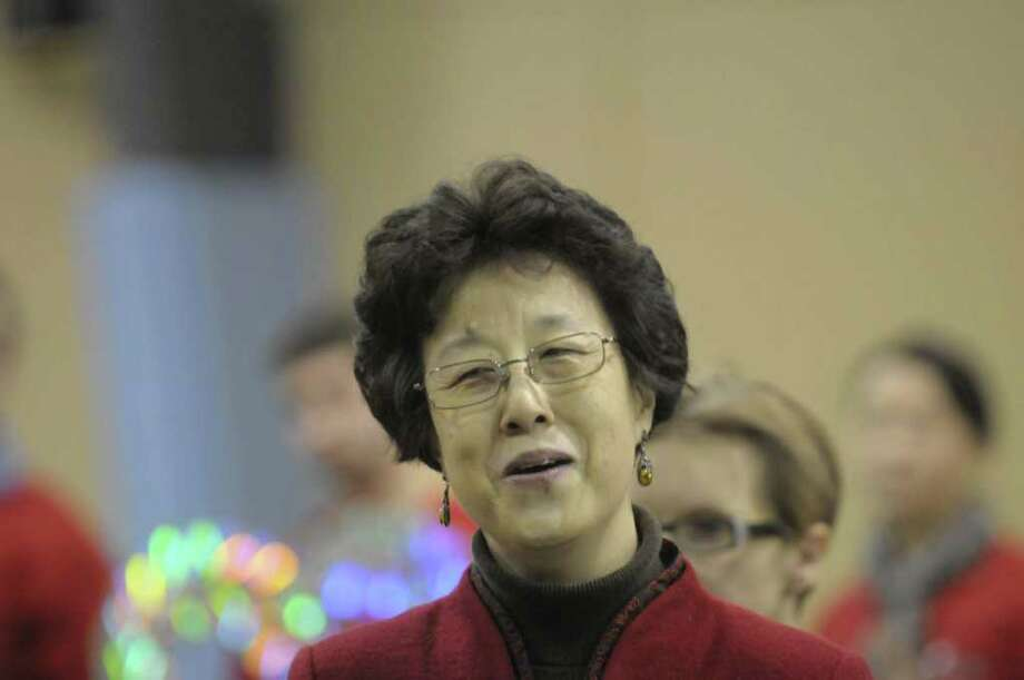 "Dong Yin sings the Chinese song, ""A Dedication of Love""  to be part of a Chinese New Yeare performance from 3 to 5 p.m. Saturday  at The Egg in the Empire State Plaza in Albany.   (Paul Buckowski / Times Union) Photo: Paul Buckowski / 00011875A"