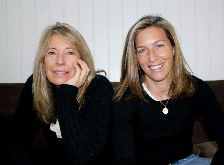 Pam Caffray, left, and Amy Jurkowitz have unveiled Milkshake, an online publication linking readers with non-profit organizations and cause-related businesses. Photo: Contributed Photo / Stamford Advocate Contributed