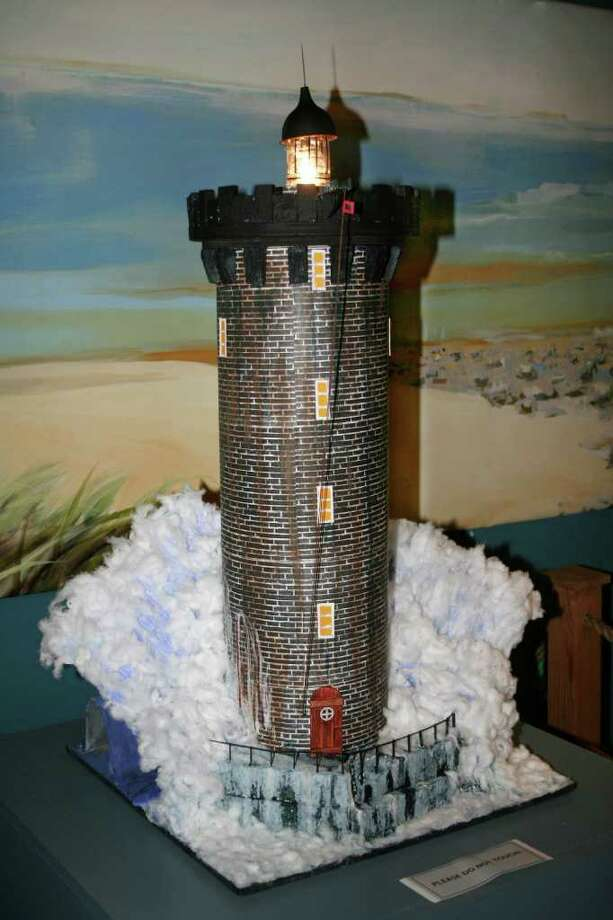 This Model Lighthouse Built By Students At The Giant Steps School Of Southport Was A Prize