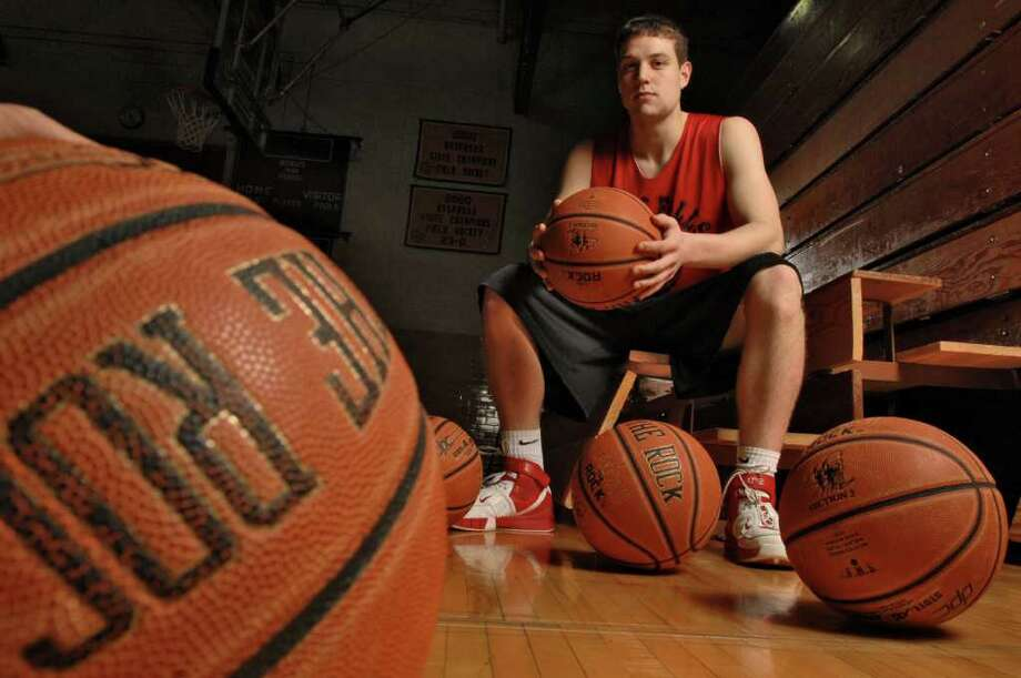 Glens Falls High School's Jimmer Fredette after practice on Jan. 4, 2007. Photo: PHILIP KAMRASS / ALBANY TIMES UNION