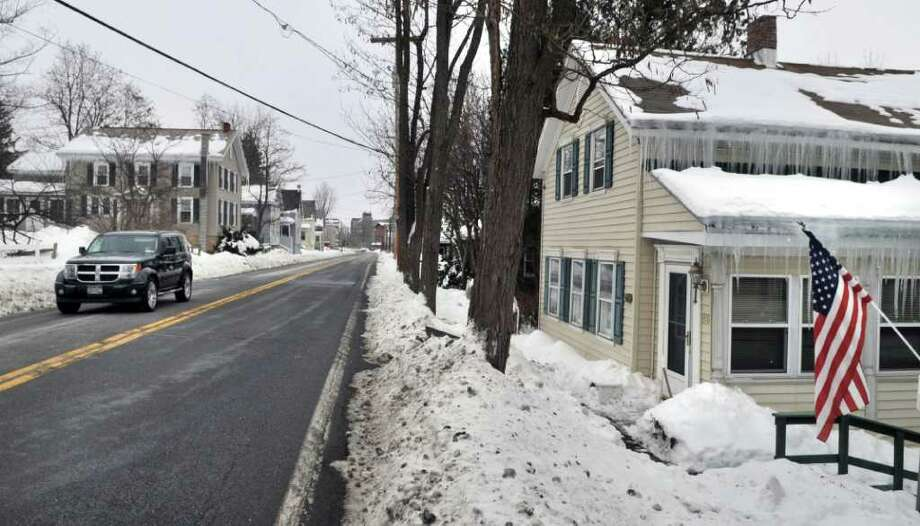 Gates Avenue in the village of Victory Thursday afternoon.  The mayor and trustees are at odds in the tiny Saratoga County community known for being the site of the turning point of the American Revolution. (John Carl D'Annibale / Times Union) Photo: John Carl D'Annibale