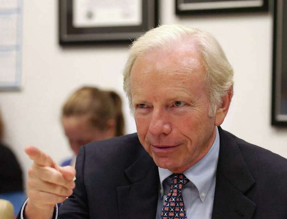 U.S. Sen. Joseph Lieberman, shown here in September 2009. Photo: File Photo / Greenwich Time File Photo