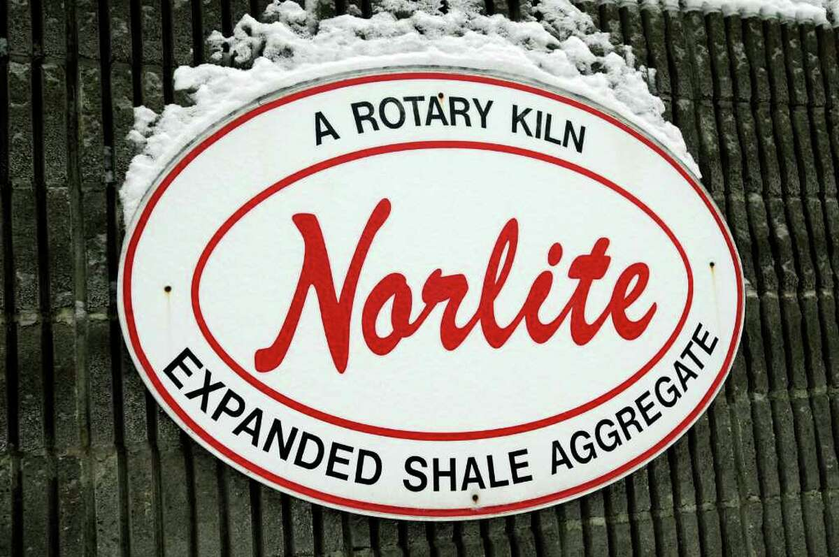 Norlite sign on Tuesday, Jan. 25, 2011, in Cohoes, N.Y. (Cindy Schultz / Times Union)