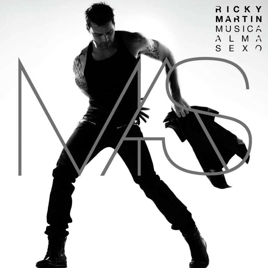 "Ricky Martin, cover of his new CD ""Música Alma Sexo"". Courtesy, Rondene PR. / DirectToArchive"