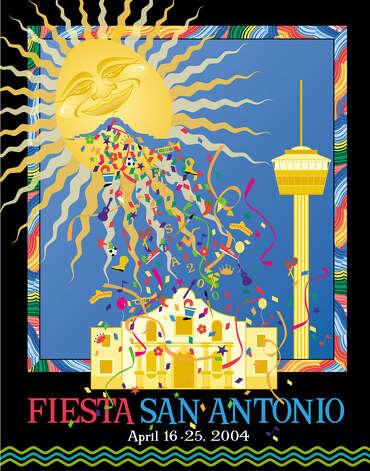 Fiesta Poster Reflects Heritage San Antonio Express News