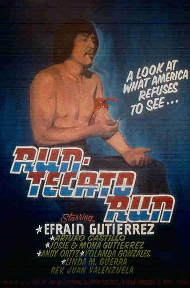 """The """"Run Tecato Run"""" poster"""