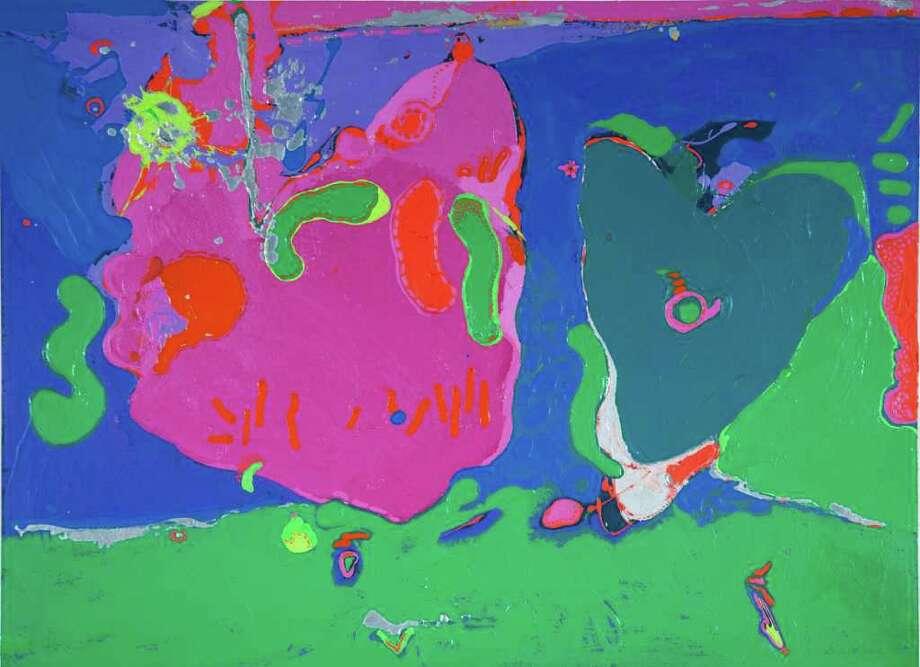 """""""Deeps"""" by Willie Marlowe (1977). (Courtesy Opalka Gallery)"""