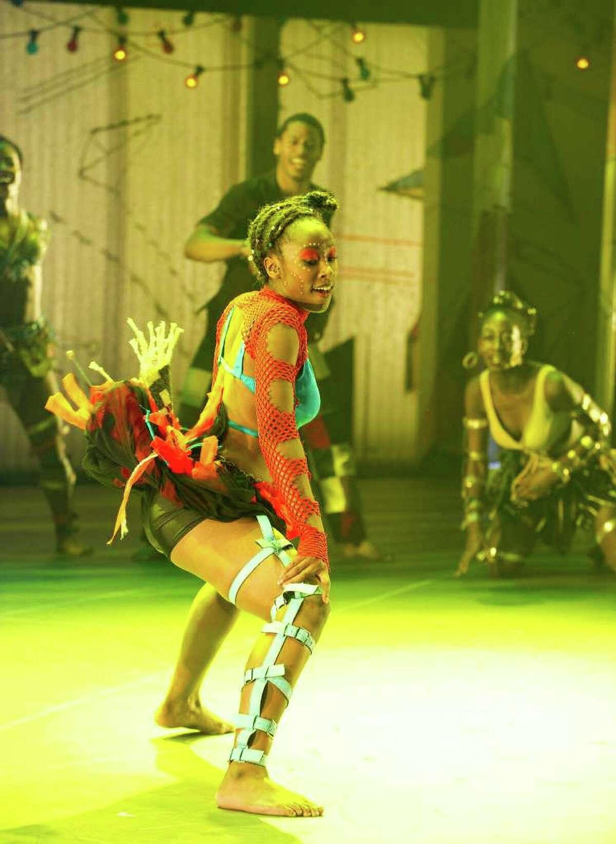 A scene from Fela at Olivier, National Theatre. Directed by Bill T. Jones. (Tristram Kenton)