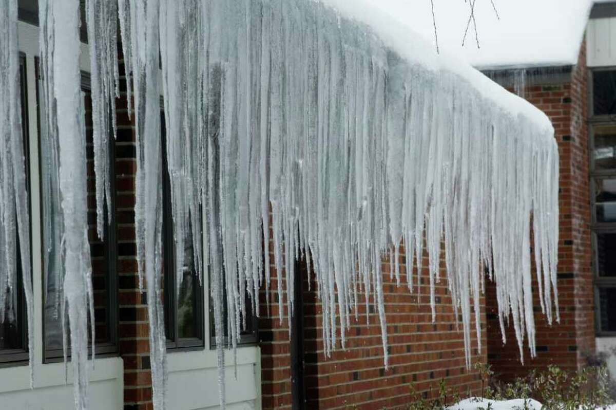 icestorm in Stamford, Conn., Wednesday February 2, 2011.