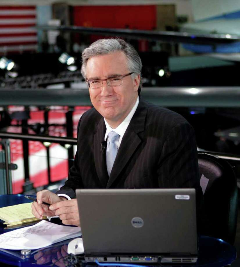 "In this May 3, 2007, file photo, Keith Olbermann of MSNBC poses at the Ronald Reagan Library in Simi Valley, Calif. Keith Olbermann has left MSNBC, bringing his ""Countdown"" career to an end. MSNBC issued a statement Jan. 21, 2011, that it had ended its contract with the controversial host, with no further explanation. (AP Photo/Mark J. Terrill, File) Photo: Contributed Photo / Greenwich Time Contributed"