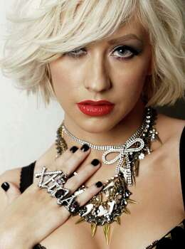 Singer Christina Aguilera poses for a portrait in Los Angeles on Wednesday, April 14, 2010. Photo: AP