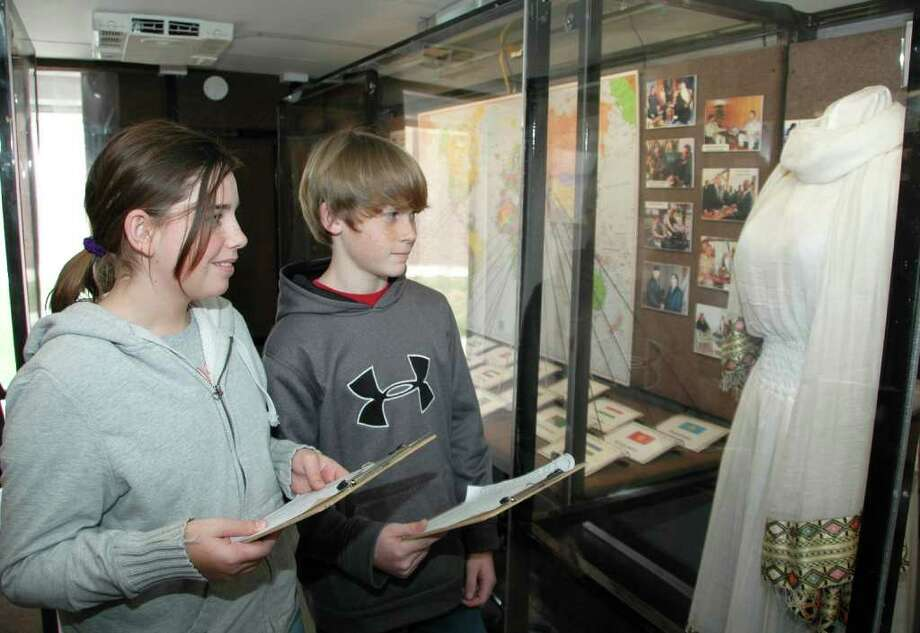 Military museum show visits Comal ISD middle schools - San