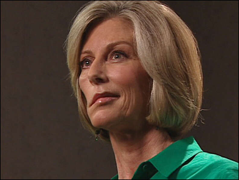 Kathi Goertzen during an interview in January.