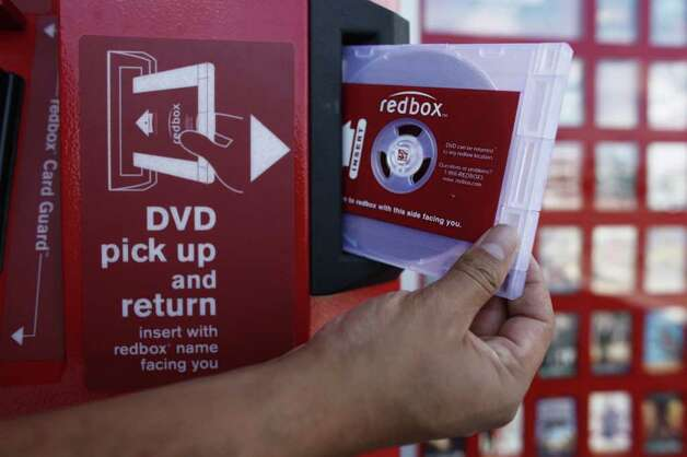 Rent a DVD from the store, kiosk or library. (AP Photo/Damian Dovarganes) Photo: Damian Dovarganes