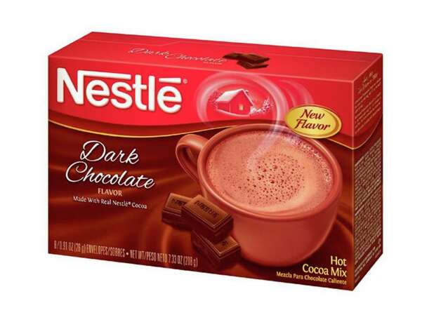 Snuggle up with some hot chocolate.  (PRNewsFoto/Nestle USA)