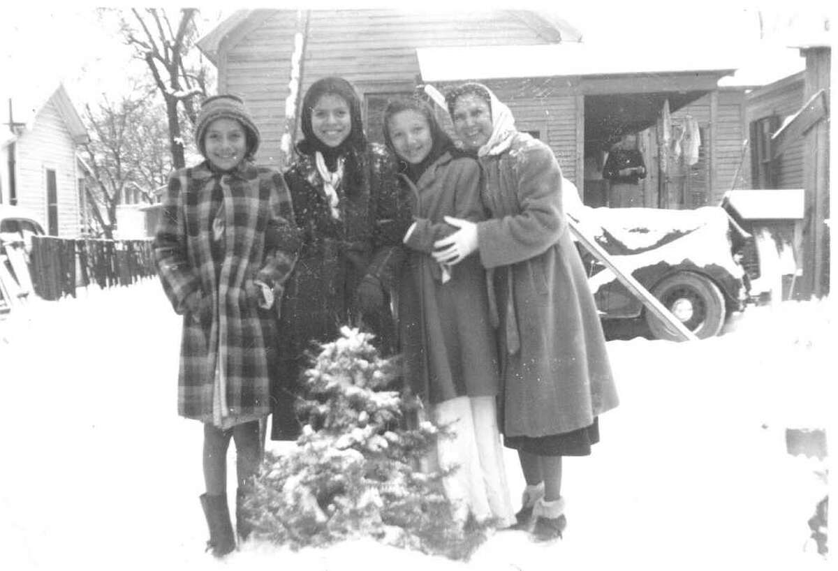 I've been following the articles by Paula Allen and the one this Sunday caught my attention. Yes there was snow in San Antonio in 1949. I have a picture of my wife's family living near Navarro School posing in their backyard with snow all around. Gene Cortez
