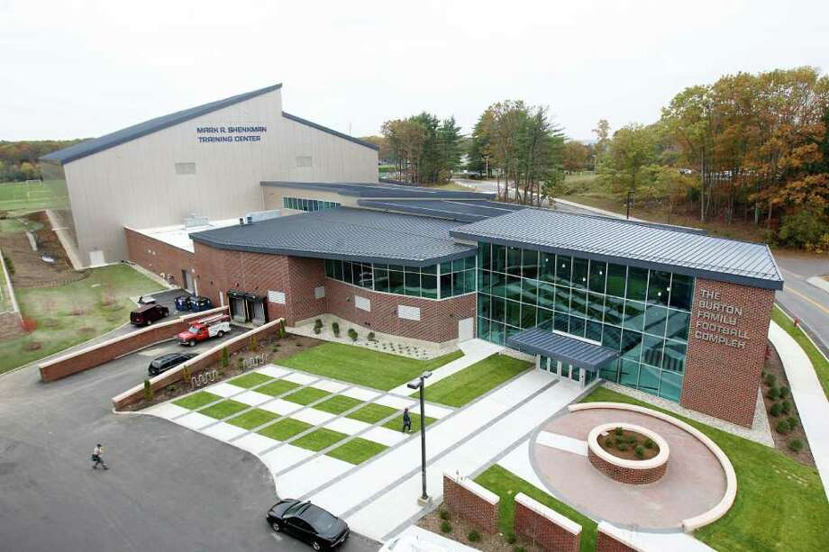 The Burton Family Football Complex on the campus of the University of Connecticut in Storrs. Photo: Contributed Photo / Greenwich Time Contributed