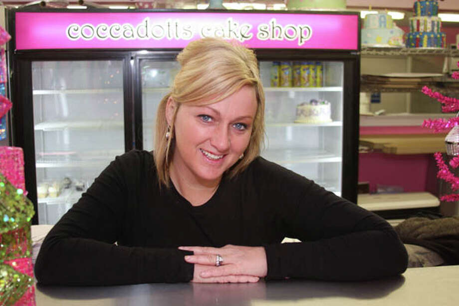 Coccadotts Cake Shop in Albany offers unique confections that are part art, part dessert. Pictured above, co-owner Rachel Cocca-Dott. (Paul Barrett/Life@Home) Click here to read the story.