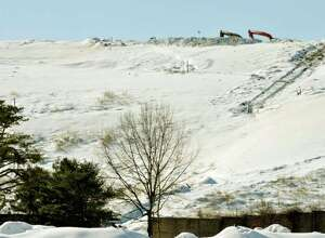 Methane from the Rapp Road landfill smells, but it can be used as a fuel source. (Paul Buckowski/Times Union)