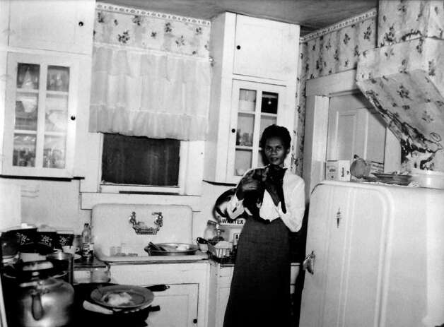This photograph of Helen Jordan in the kitchen was taken October 27, 1956. Photo provided by the Jasper County Historical Museum. Photo: Dave Ryan / Beaumont