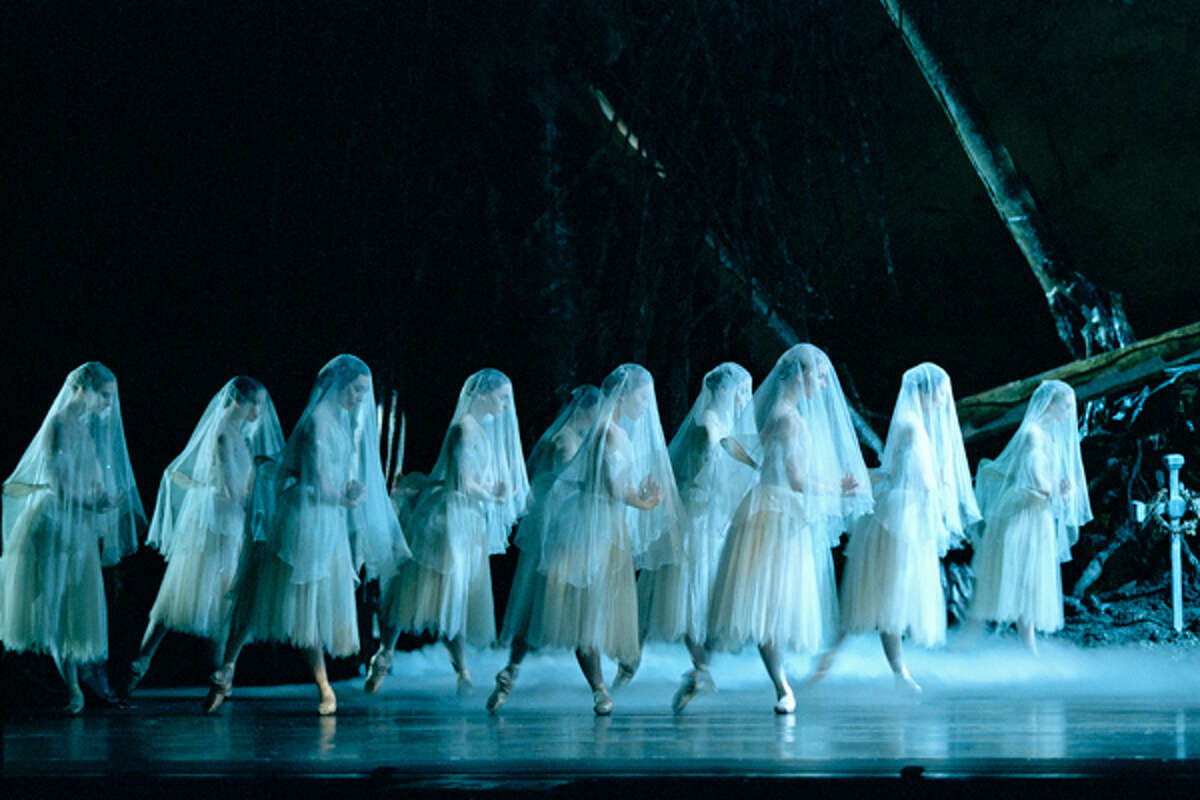 """A scene from the Royal Ballet's """"Giselle."""" (Courtesy Emerging Pictures)"""