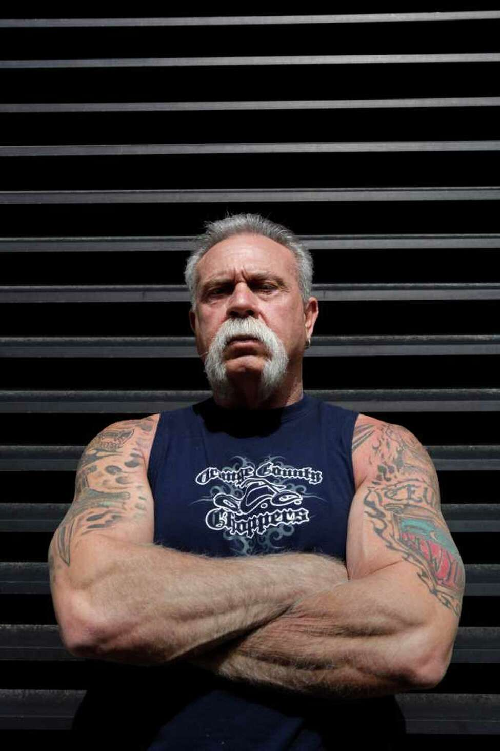 Paul Teutul, 61, the proprietor of Orange County Choppers and star of the popular Discovery Channel TV program declined comment when asked how his name and personal information appeared on business records in connection with a Florida steriods case. The records show Teutul received thousands of dollars worth of steroids over a multi-year period. (AP)