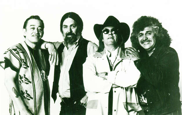 The Texas Tornados, featuring Flaco Jimenez (from left), Augie Meyers, Doug Sahm  and Freddie Fender. Photo: Courtesy