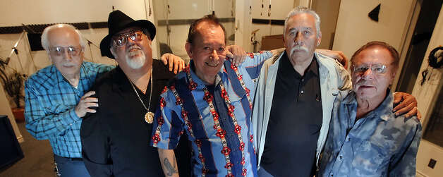 Flaco Jimenez and his friends are collaborating on Jimenez's final solo album. Photo: Kin Man Hui / Express-News