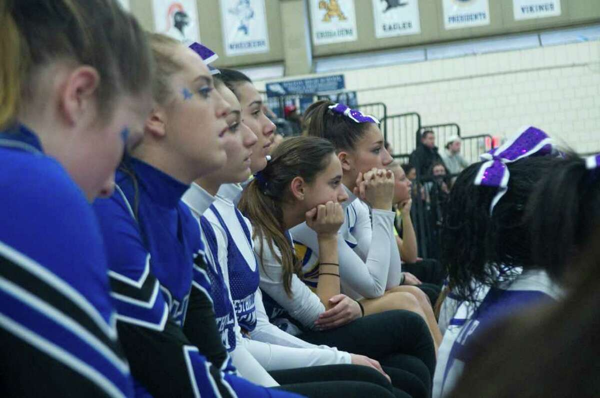 FCIAC Cheerleading Championships in Wilton, Conn., Sunday February 6, 2011.