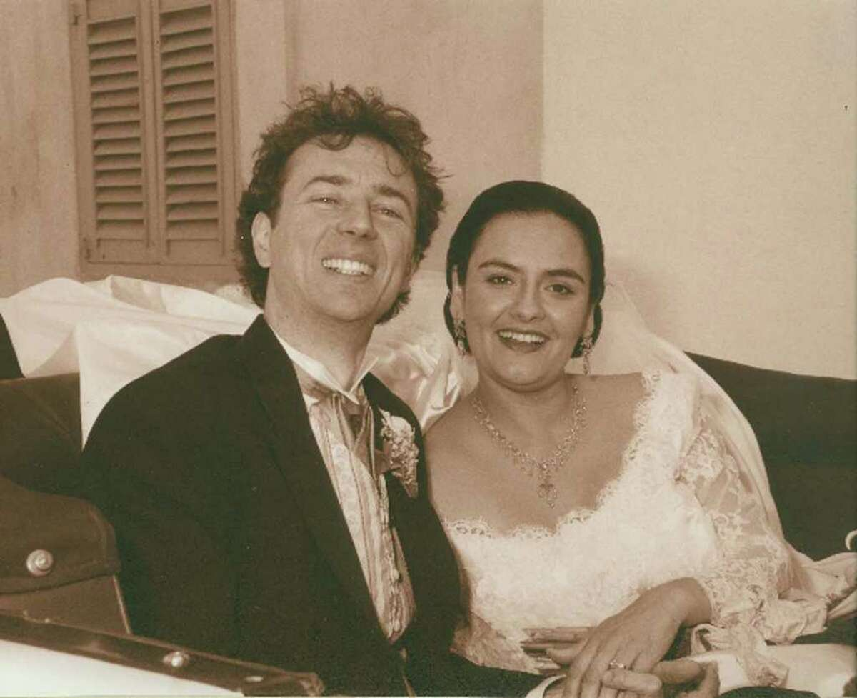 """Ludwig and Elaine Lipp were married March 31, 2002 in Malta. The couple now live in Brookfield, but they first met at a performance of """"Ermione"""" in New Mexico."""