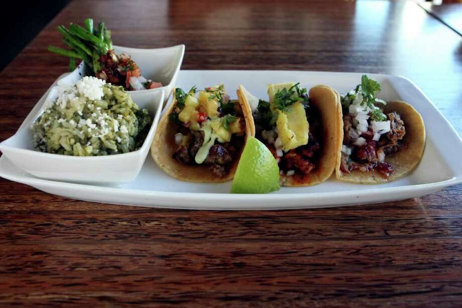 Urban Taco,290 E. Basse Road, Suite 105 at Quarry Village, 210-332-5149Take a date: Urban Taco has a decidedly different feel than most local Mexican restaurants. The upscale Dallas-based small chain with a menu inspired by the street food culture of Mexico City combined with the coastal cuisine of Acapulco is just hip enough to be fun, without feeling like it's trying too hard. Photo: HELEN L. MONTOYA, SAN ANTONIO EXPRESS-NEWS / hmontoya@express-news.net