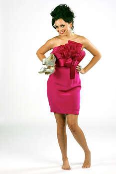 Last December, Domonique Ramirez posed for a holiday fashion shoot as Miss San Antonio for Trends magazine. Photo: Helen L. Montoya/hmontoya@express-news.net