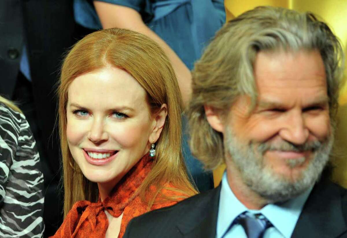 BEVERLY HILLS, CA - FEBRUARY 07: Actors Nicole Kidman (L) and Jeff Bridges attend the 83rd Academy Awards nominations luncheon held at the Beverly Hilton Hotel on February 7, 2011 in Beverly Hills, California. (Photo by Alberto E. Rodriguez/Getty Images) *** Local Caption *** Nicole Kidman;Jeff Bridges