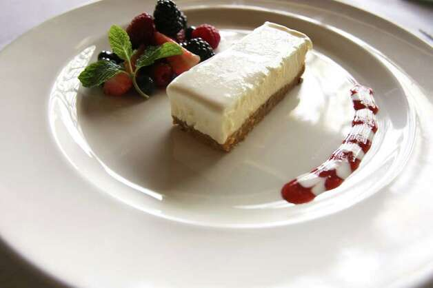 End a Valentine's Day dinner at Aldo's with its cheesecake.