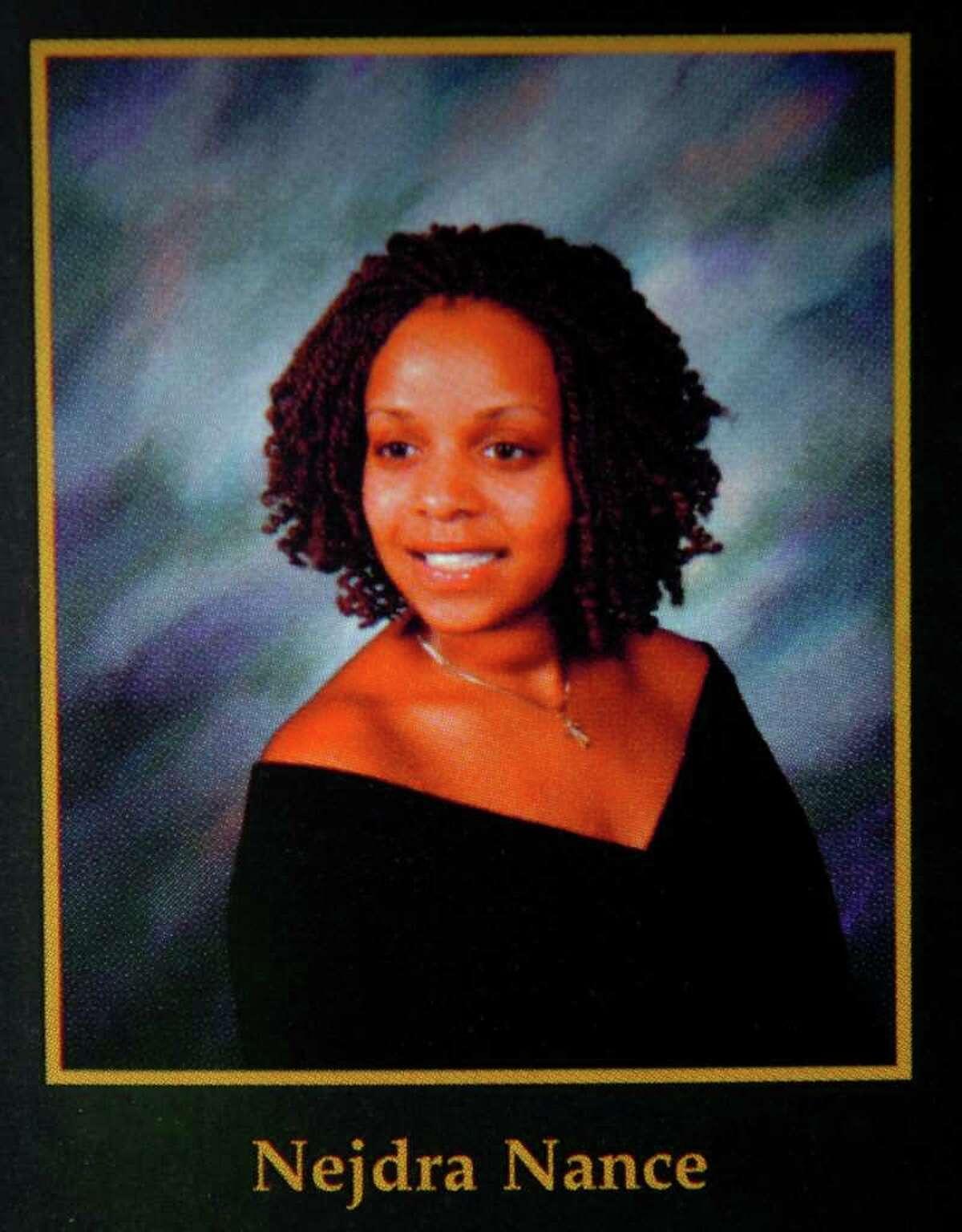 Nejdra Nance (Carlina White) in the 2005 Harding High School Yearbook, Folio.