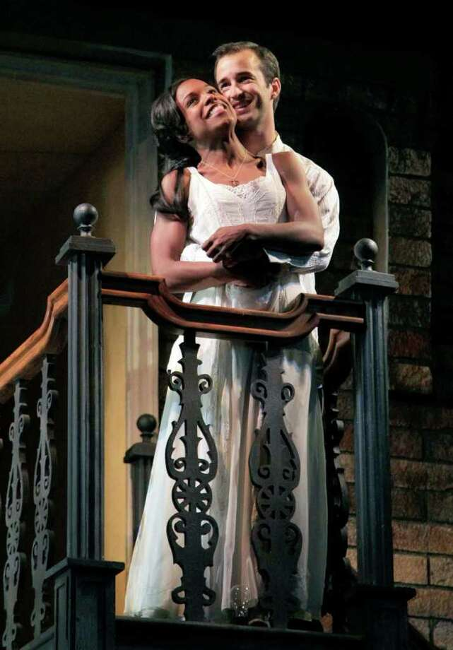 """Kaliswa Brewster and Alejandro Rodriguez in the production of """"Romeo and Juliet"""" that the Acting Company/Guthrie Theater will stage Feb. 18 at Fairfield University. Photo: Contributed Photo / Fairfield Citizen contributed"""
