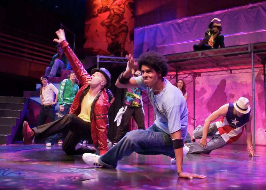 "A show that combines elements of ""A Chorus Line"" and ""Stomp"" in exploring the world of Hip Hop dance - ""Groovaloo"" - is coming to Foxwoods Feb. 18 to 20. Photo: Contributed Photo / Connecticut Post Contributed"