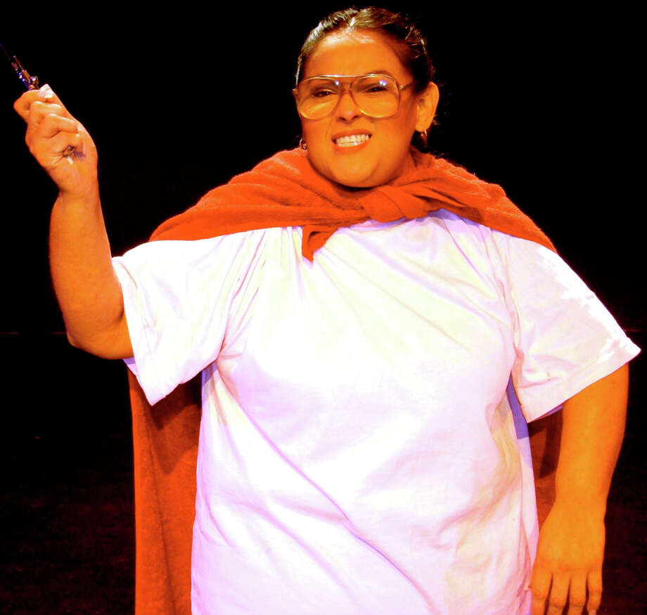 """Janie Sauceda's one-woman play """"Sunday"""" is drawn from weekend rituals during her childhood. COURTESY JUMP-START PERFORMANCE"""