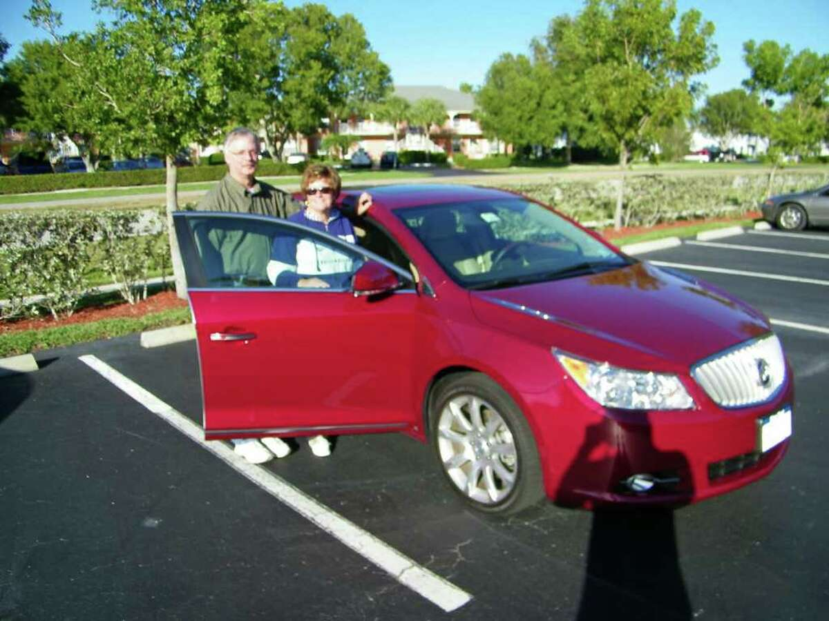 Anne and Mike Bielkiewicz thought they bought lifetime satellite radio service for their 2010 Buick LaCrosse, but a signal shutoff by XM Sirius showed forever lasted about a year. ( Photo courtesy of Anne and Mike Bielkiewicz )